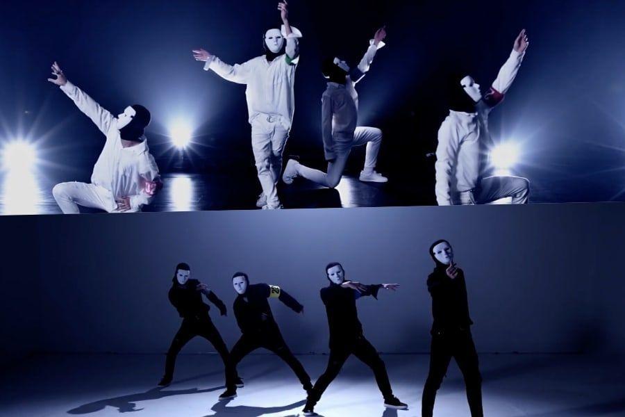 """Ídolos enmascarados hacen que los fans se pregunten por su identidad interpretando versiones de BTS en """"Dance War"""""""