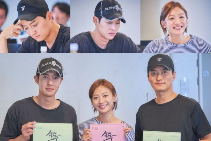 Kim Hyun Joong, Ahn Ji Hyun e In Gyo Jin se unen a la primera lectura de guión de su nuevo drama