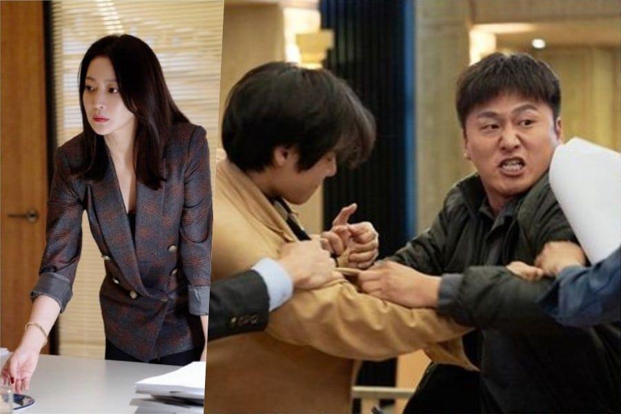 """Kim Hee Sun es una fría y calculadora abogada en medio del caos en """"Room No. 9"""""""