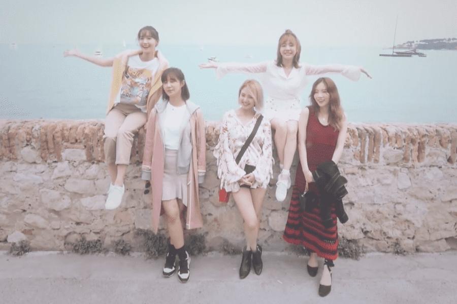 """Girls' Generation-Oh!GG desvela un vídeo especial para """"Fermata"""" en el que muestran recuerdos de Francia"""