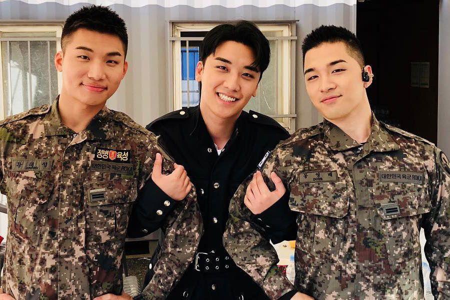 Seungri de BIGBANG se reúne con sus compañeros Daesung y Taeyang