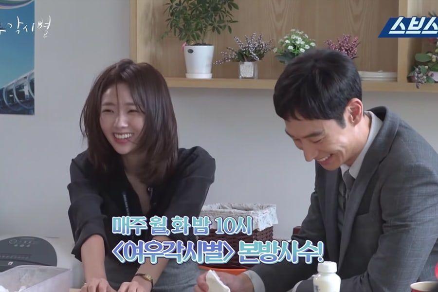 """Lee Je Hoon y Chae Soo Bin filman divertida escena con bofetada para """"Where Stars Land"""""""