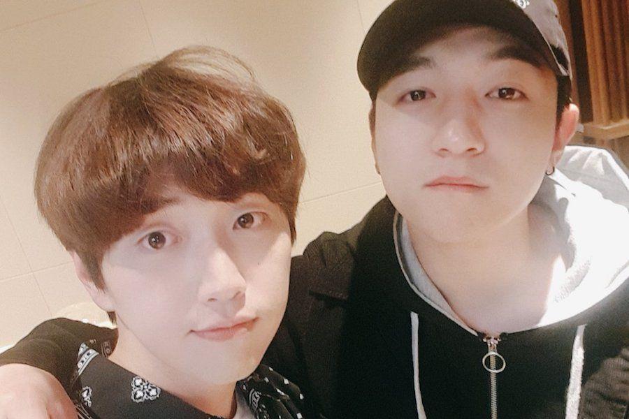 Sandeul de B1A4 y Sungjin de DAY6 hablan sobre ser amigos y rivales desde la escuela elemental