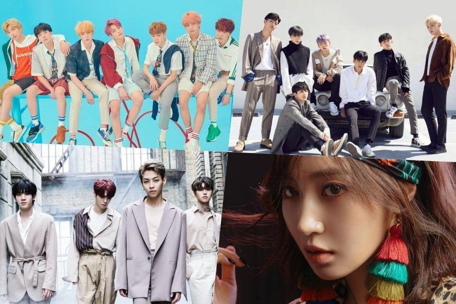 BTS, iKON, The Rose, Yuri y GOT7 toman posiciones en la lista de álbumes mundiales de Billboard