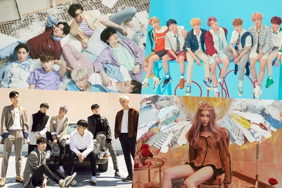 Gaon revela su última lista mensual y semanal
