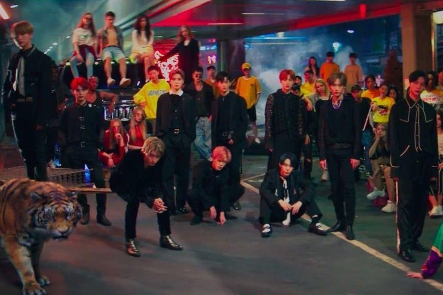 """[Actualizado] El carisma del NCT 127 se desborda en el MV de la versión coreana de """"Regular"""""""