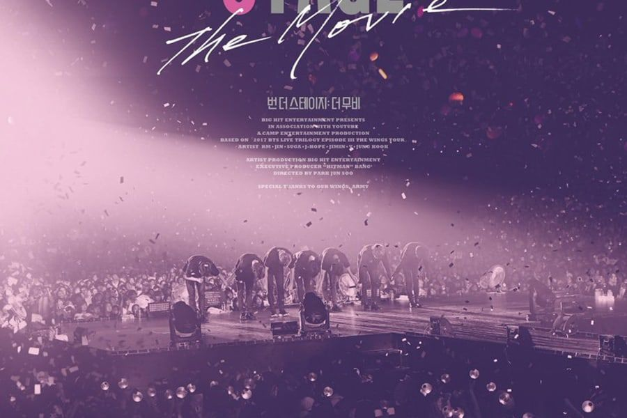 "[Actualizado] BTS publica póster oficial para ""Burn the Stage: The Movie"""