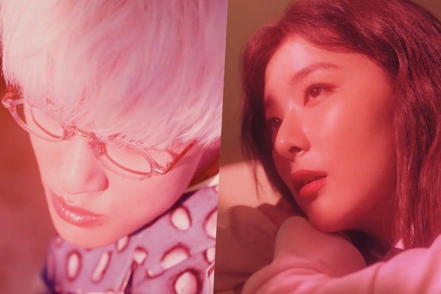 [Actualizado] Zion.T y Seulgi de Red Velvet dan un adelanto de su soñadora colaboración en MV teaser