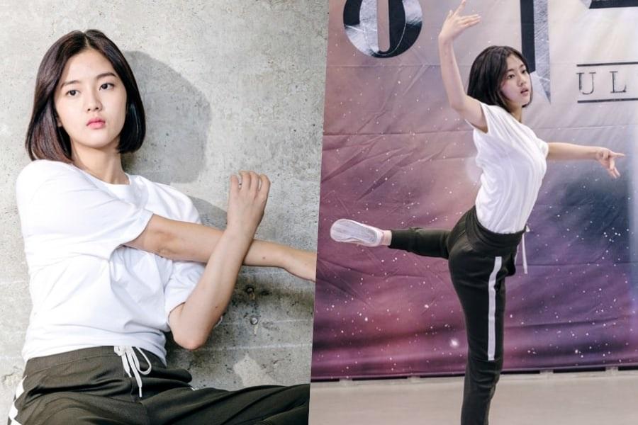 """Shin Eun Soo demuestra sus movimientos en """"Bad Papa"""""""