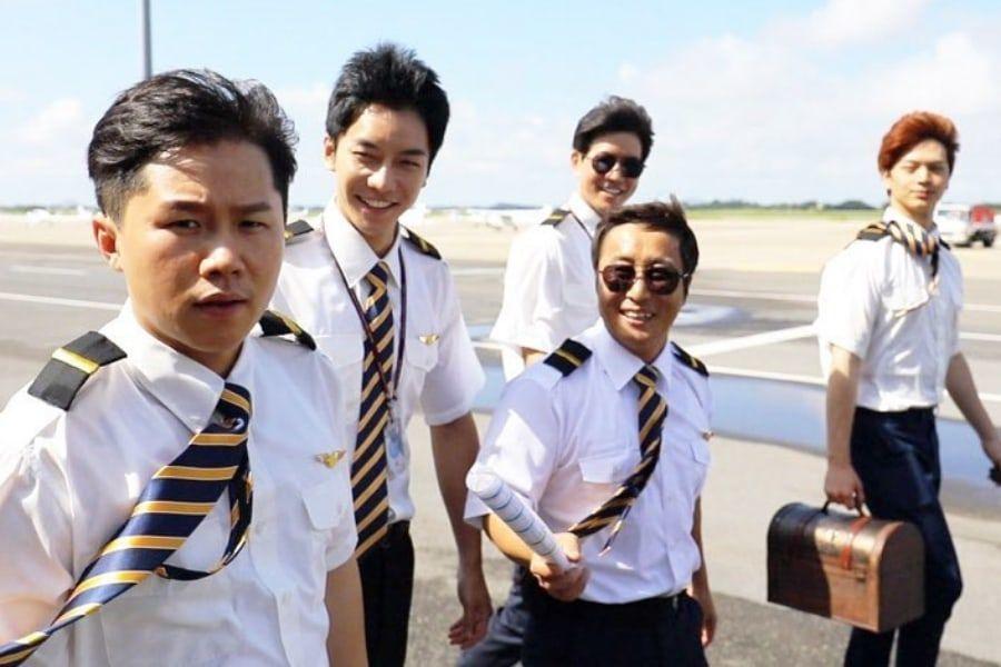 """El elenco de """"Master In The House"""" se convierte en piloto y aprende a volar un avión gracias a Kim Byung Man"""