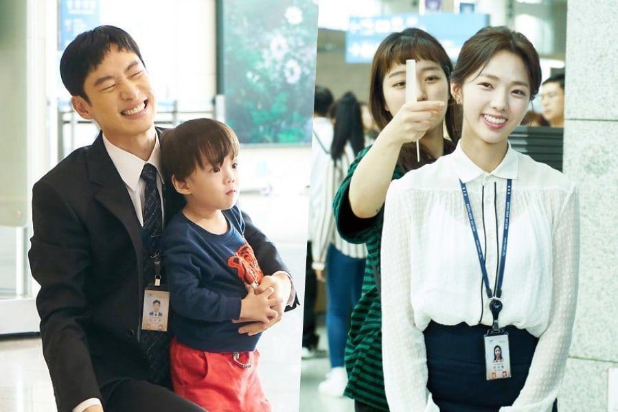 """Lee Je Hoon, Chae Soo Bin y más muestran sus sonrisas y trabajo en equipo mientras graban """"Where Stars Land"""""""