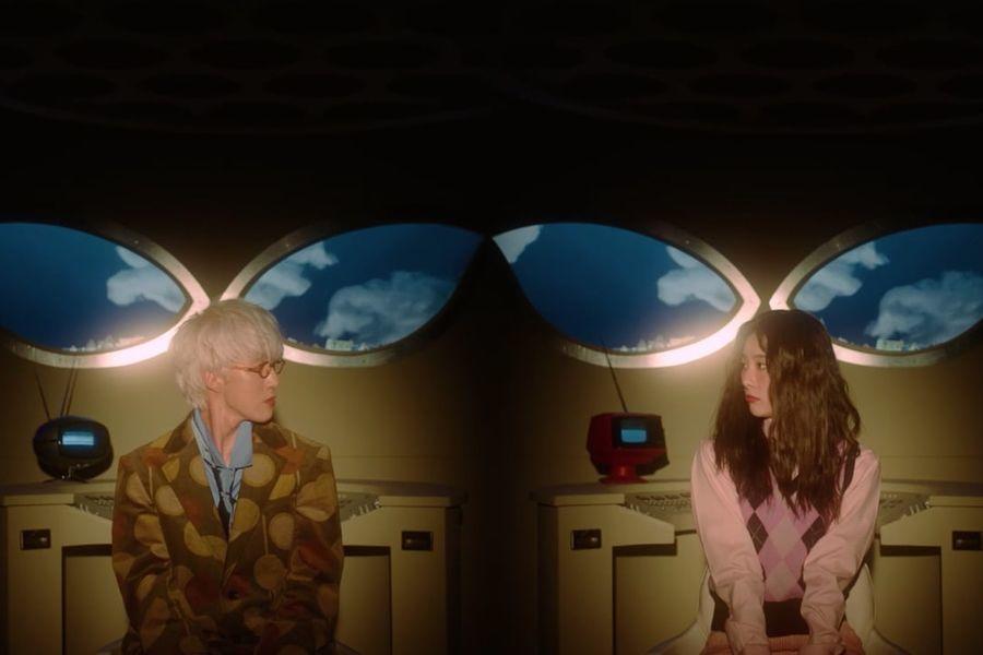 "Zion.T publica el vídeo musical de ""Hello Tutorial"" junto a Seulgi de Red Velvet"