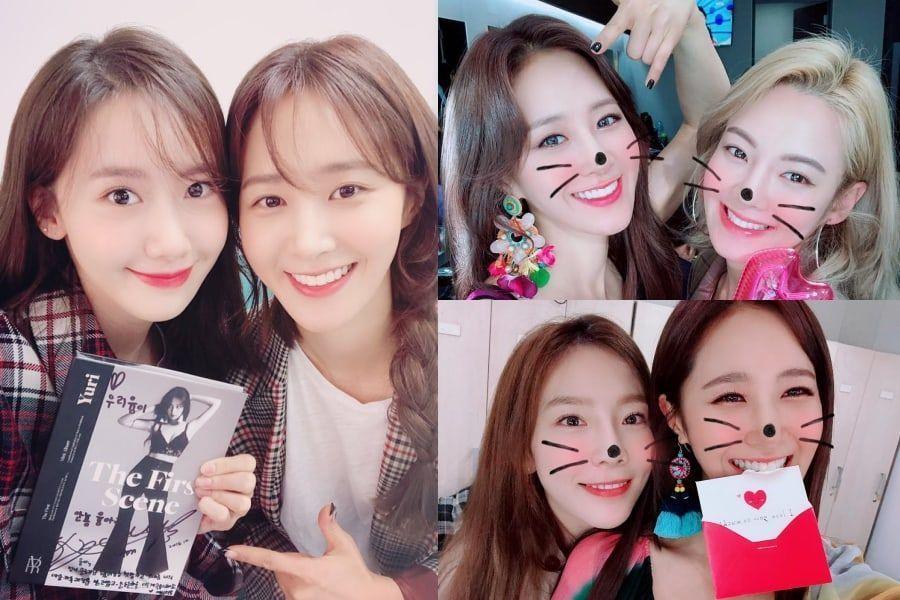 Integrantes de Girls' Generation muestran apoyo por las promociones en solitario de Yuri