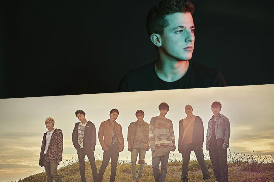 Charlie Puth y GENERATIONS from EXILE TRIBE asistirán a los 2018 MGA