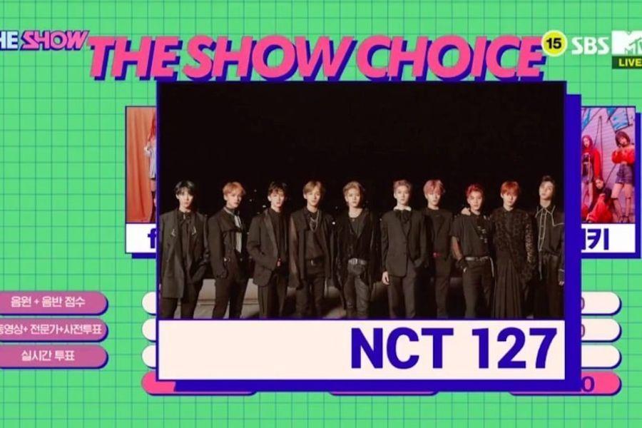 """NCT 127 logra su primer trofeo con """"Regular"""" en """"The Show"""", actuaciones de WJSN, DreamCatcher, y más"""
