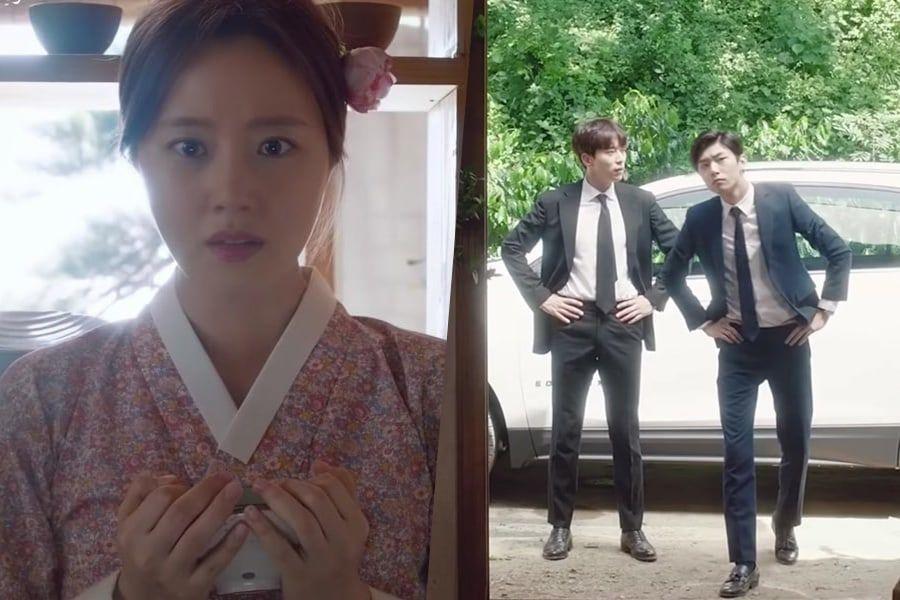 """Moon Chae Won está confundida entre dos candidatos a esposo en teaser para """"Mama Fairy And The Woodcutter"""""""