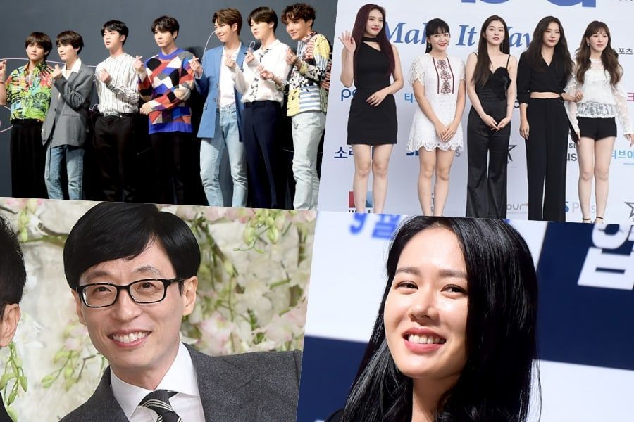 "Ganadores de los ""Korean Popular Culture & Arts Awards 2018"""