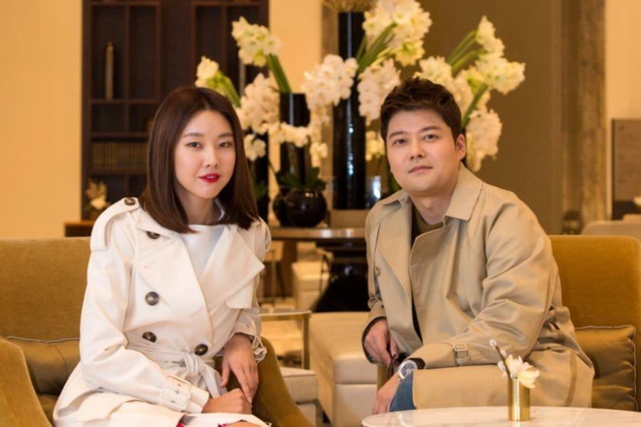 Han Hye Jin responde a los rumores de matrimonio con Jun Hyun Moo