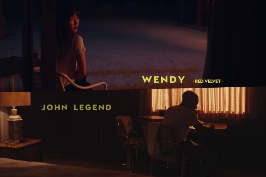 [Actualizado] SM STATION lanza MV teaser para la colaboración entre Wendy de Red Velvet y John Legend