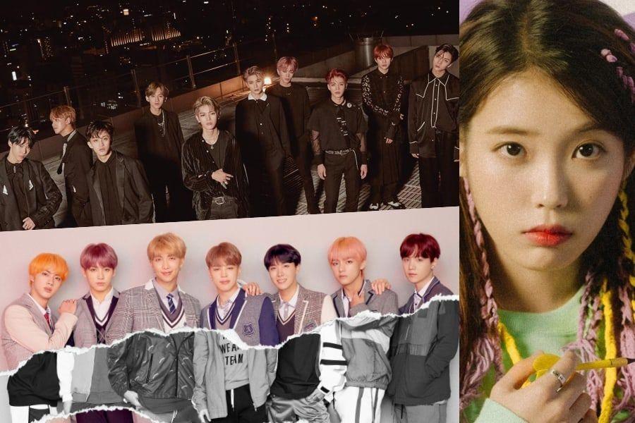 NCT 127, IU, BTS y más encabezan los charts semanales de Gaon