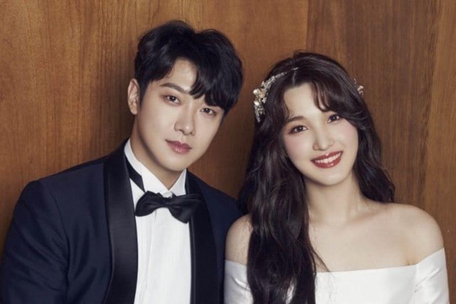 Choi Min Hwan de FTISLAND y Yulhee comparten lindas fotos y agradecimientos tras su boda