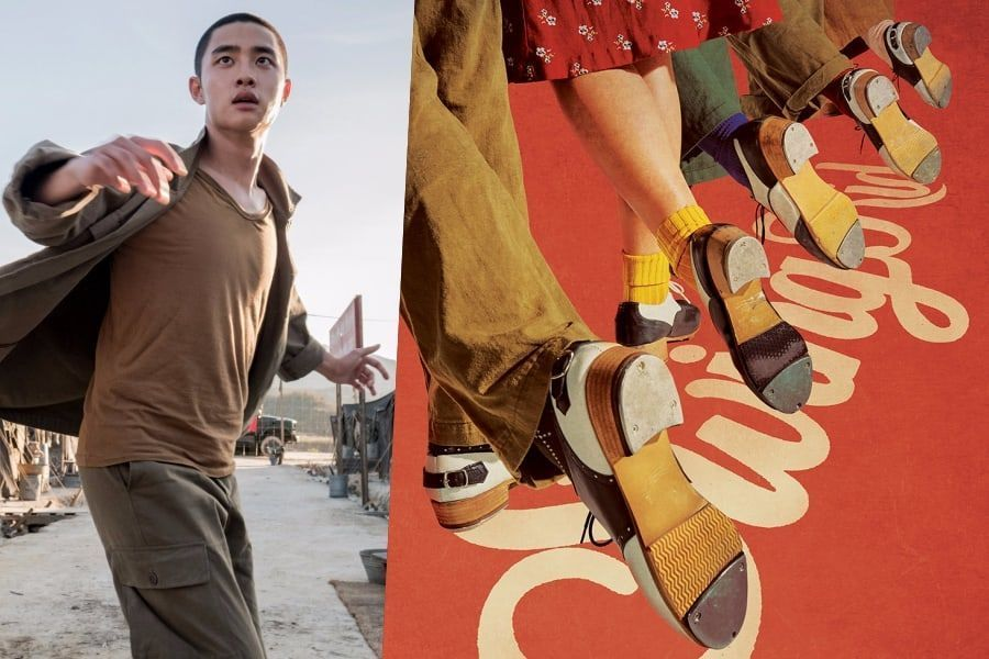 """La próxima película """"Swing Kids"""", protagonizada por D.O de EXO, lanza póster y fecha de lanzamiento"""