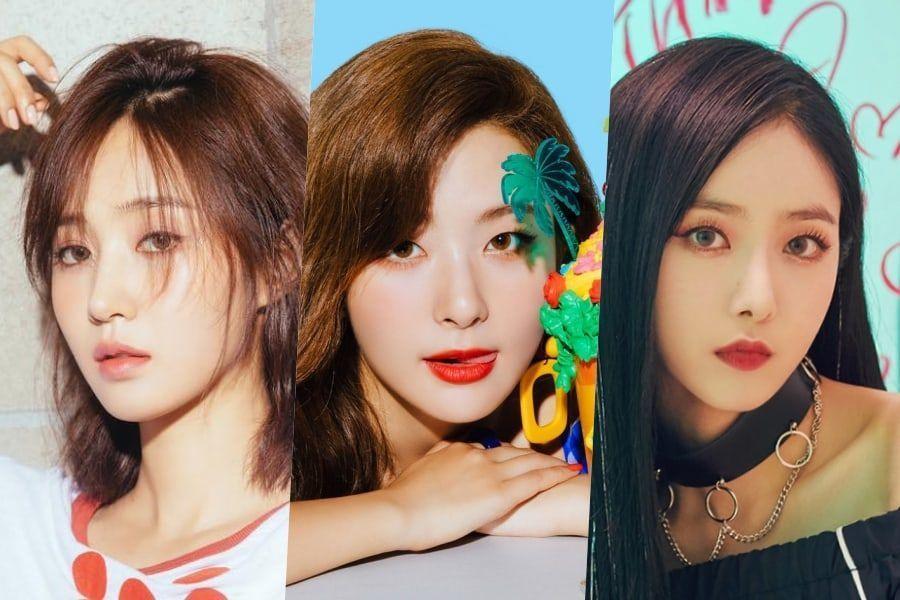 Se revela el ranking de reputación de marca para miembros individuales de grupos de chicas para el mes de octubre
