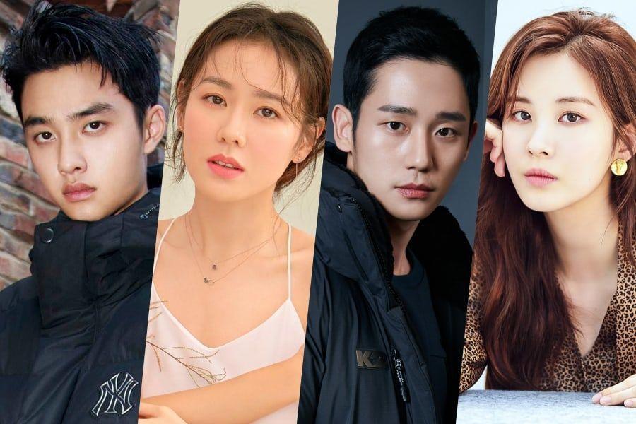 D.O., Son Ye Jin, Jung Hae In, y Seohyun ganan el premio a la popularidad en los The Seoul Awards