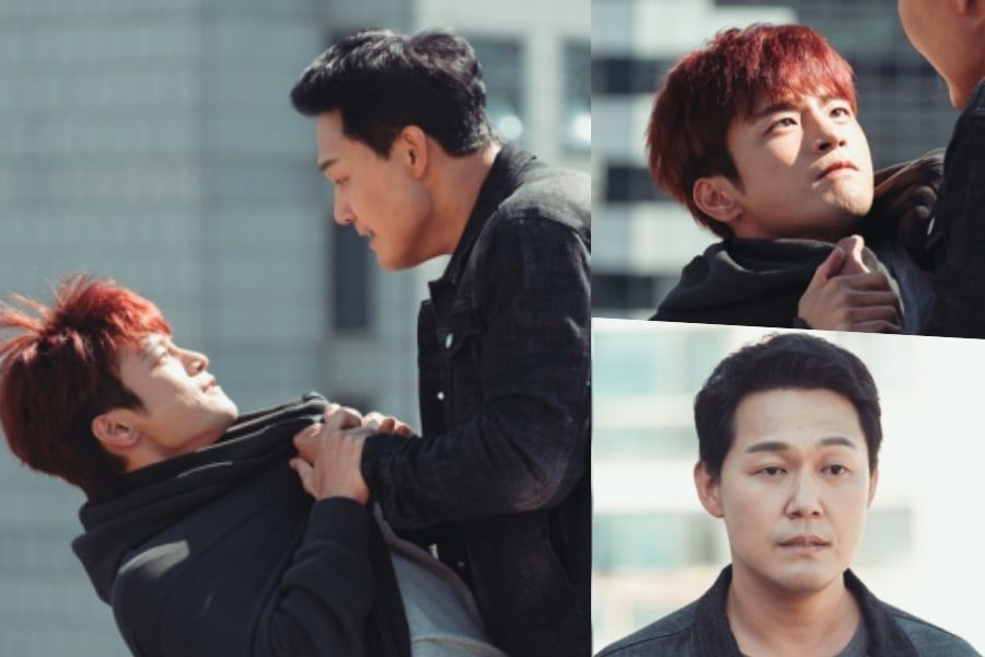 "Seo In Guk y Park Sung Woong discuten en ""The Smile Has Left Your Eyes"""