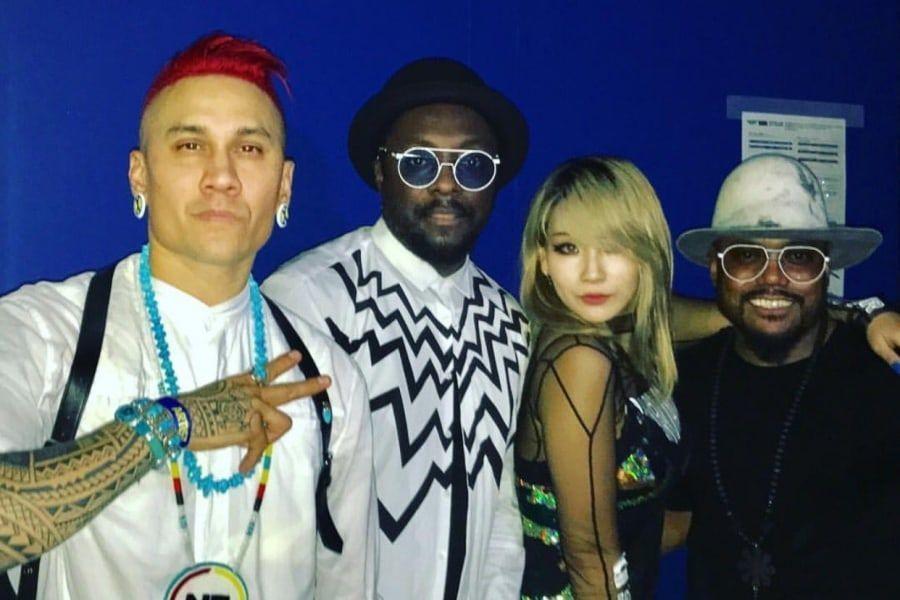 CL y The Black Eyed Peas lanzarán una nueva colaboración