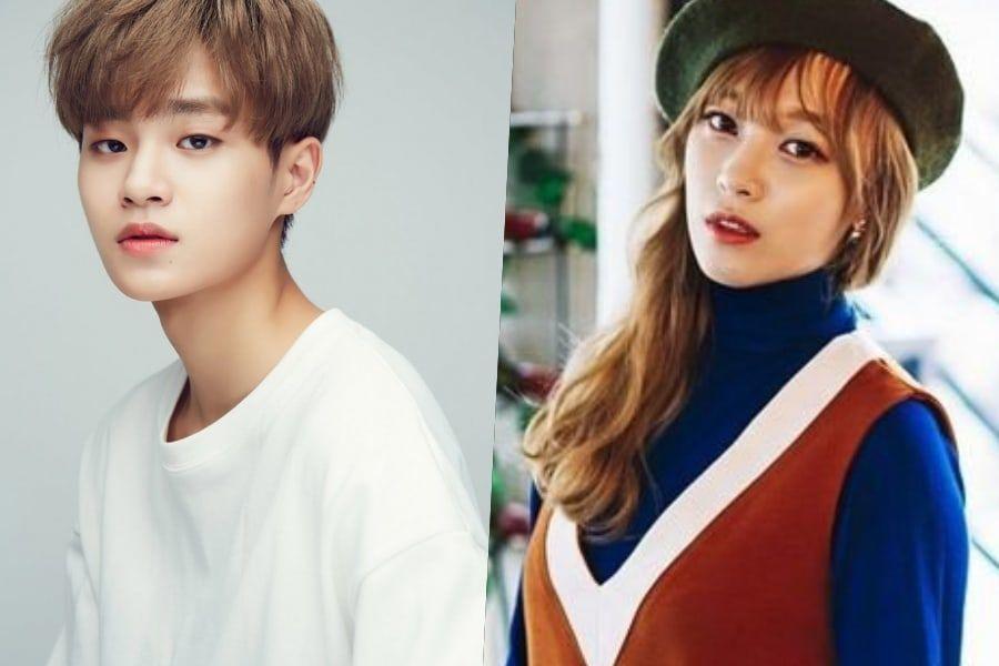 Lee Dae Hwi de Wanna One regala a Kang Min Hee una canción que compuso