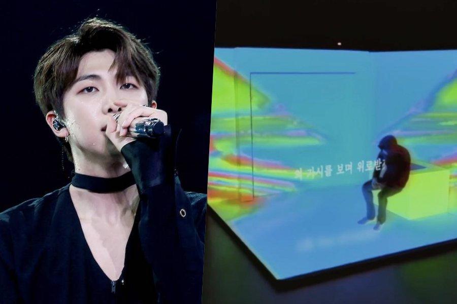 """[Actualizado] RM de BTS revela nuevo video con la letra de """"moonchild"""" de """"mono"""""""