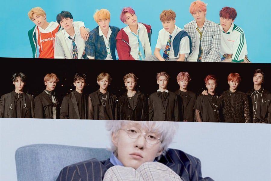 BTS, NCT 127 y Zion.T ocupan un lugar destacado en la lista de álbumes internacionales de Billboard