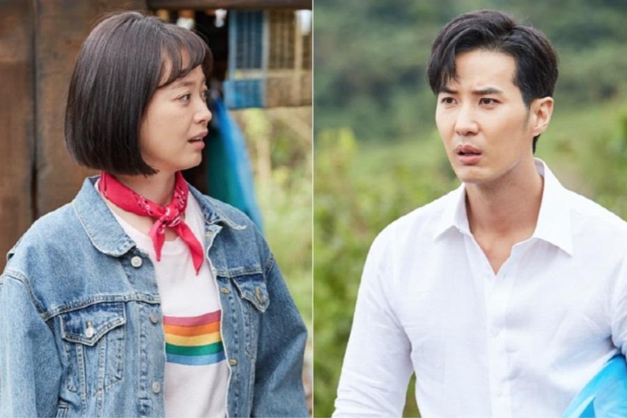 Jun So Min y Kim Ji Suk no son un gran amor a primera vista en adelantos para nuevo drama