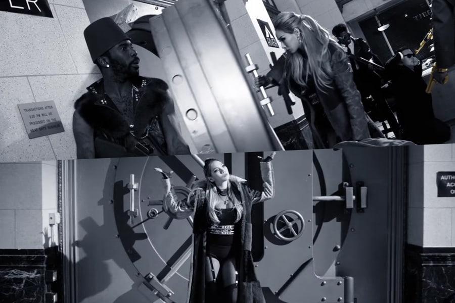 """CL y The Black Eyed Peas logran el atraco perfecto en el MV para """"Dopeness"""""""