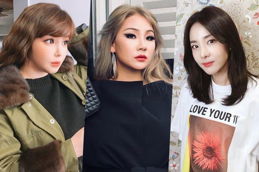 Park Bom y Sandara Park muestran apoyo por la nueva colaboración de CL con Black Eyed Peas