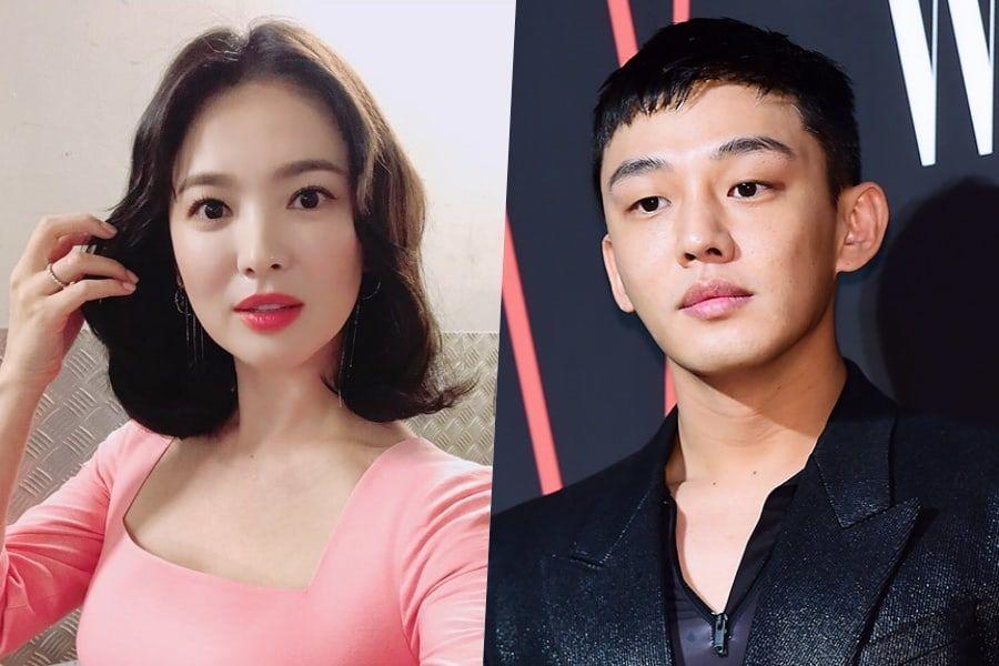 Song Hye Kyo comparte linda foto con Yoo Ah In y dice que quiere trabajar con él