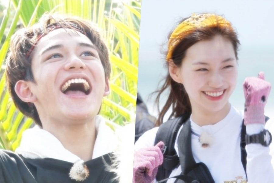 """Lucas de NCT y Kim Doyeon de Weki Meki usan su juventud y energía para prosperar en la """"Law Of The Jungle"""""""