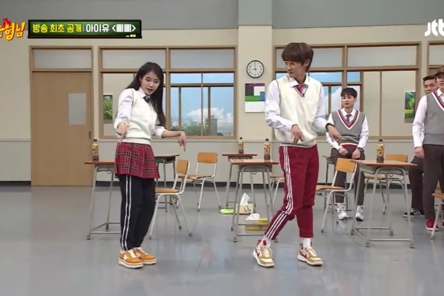 """Lee Joon Gi baila """"BBIBBI"""" de IU y presume su habilidad de canto"""