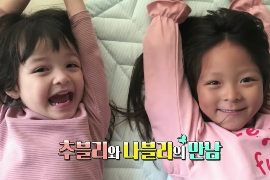 "Na Eun y Choo Sarang pasan un feliz día juntas en el adelanto de ""The Return Of Superman"""