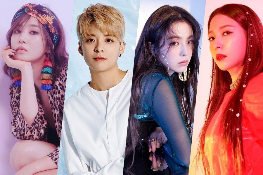 Yuri de Girls' Generation, Amber de f(x) y Irene de Red Velvet muestran su apoyo a BoA