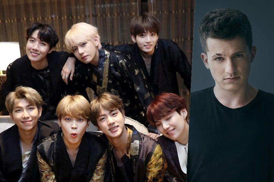 BTS y Charlie Puth realizarán una colaboración especial en los 2018 MGA