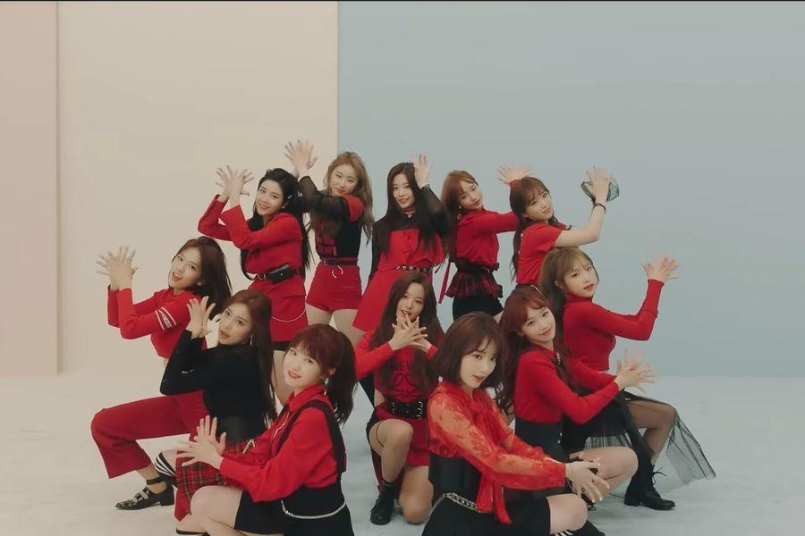 """""""La Vie En Rose"""" de IZ*ONE se convierte en el MV de debut de un grupo de K-Pop con más visitas en 24 horas"""