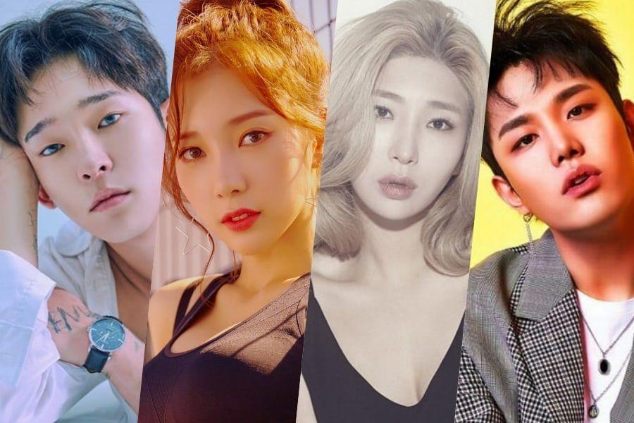 Nam Tae Hyun, Chaekyung de APRIL, Giant Pink y Kanto, confirmados como elenco para programa de variedades y música