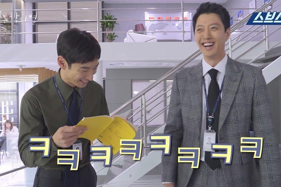 "Lee Je Hoon y Lee Dong Gun no paran de reír en video detrás de cámaras de ""Where Stars Land"""