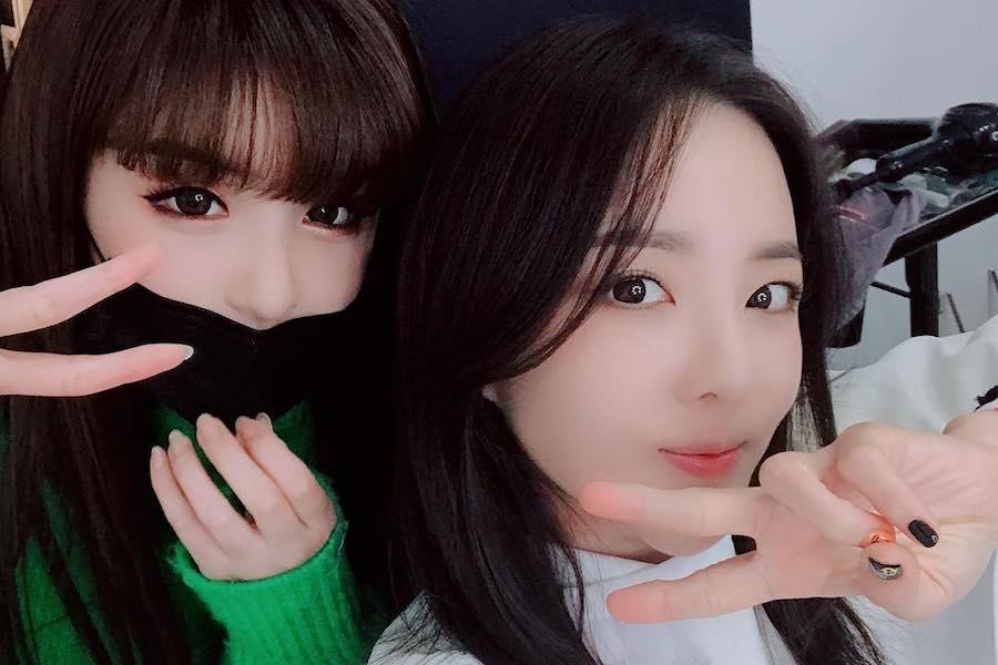 La reunión de Park Bom y Sandara Park está emocionando a sus fans