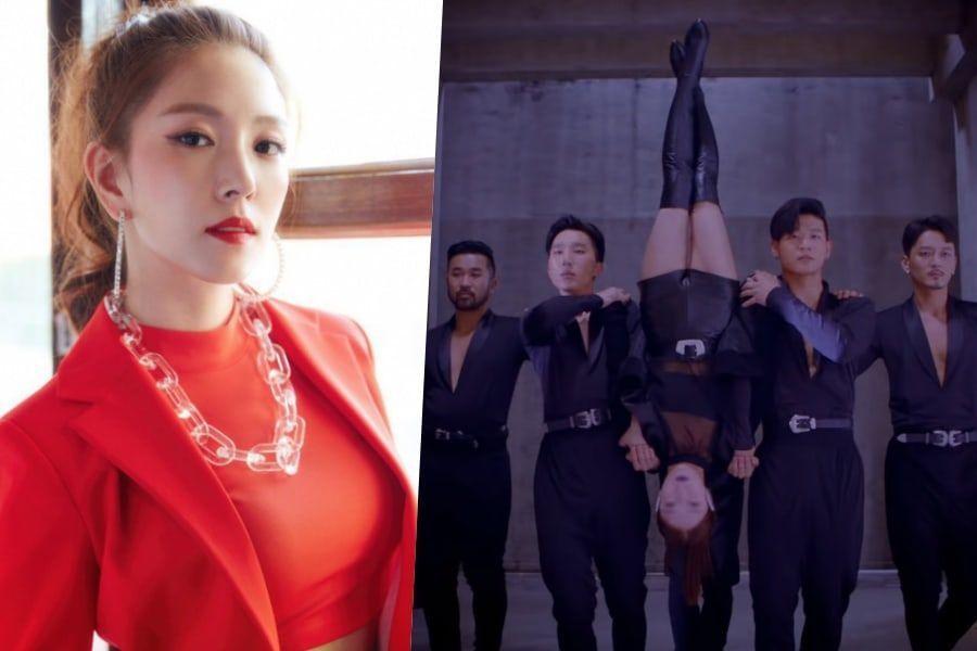 """BoA comparte su reacción inicial sobre caminar boca abajo en la coreografía de """"Woman"""""""