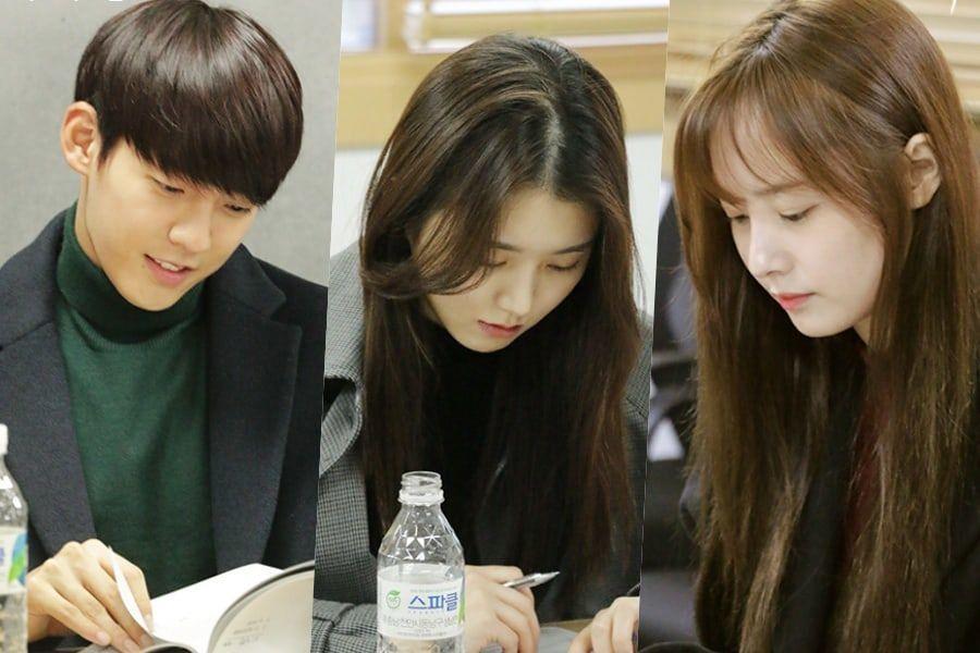El próximo drama web de Minhyuk de BTOB, Baek Seo Yi y Woohe, realiza lectura de guión