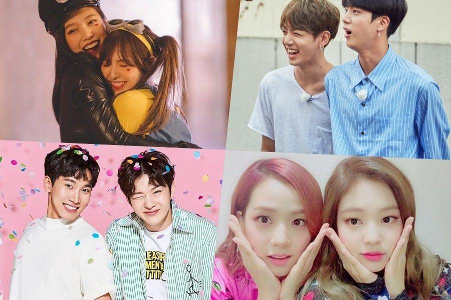Miembros de grupos K-Pop que son lo suficientemente cercanos como para ser hermanos en la vida real