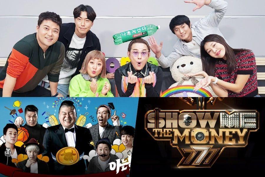 Se revela el ranking de reputación de marca de programas de variedades del mes de noviembre